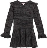 Design History Girls Girl's Rainbow Lurex Dress, Size 2-6X