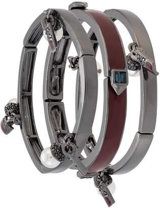 Helena Camila Klein multiple cuff set