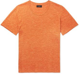 Alanui Melange Wool, Silk And Linen-Blend T-Shirt