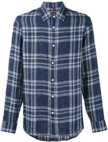 MICHAEL Michael Kors checked shirt - men - Linen/Flax - M