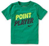 Nike Little Boys 2T-7 Point Player Short-Sleeve Tee