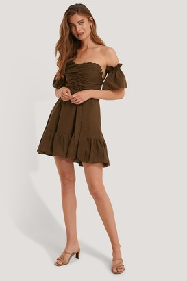 Trendyol Binding Detail Voile Dress