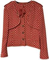 Chanel Red Tweed Jacket for Women