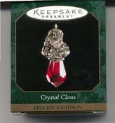 Hallmark QXM4637 Crystal Claus 1999 Miniature Keepsake Ornament Precious Edition