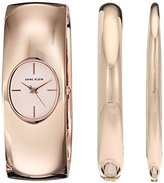 Anne Klein Women's Quartz Metal and Alloy Dress Watch, Color:Rose Gold-Toned (Model: AK/2636RGST)