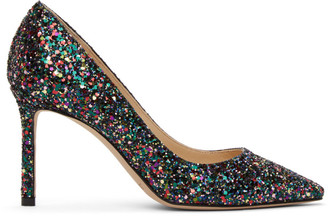 Jimmy Choo Multicolor Romy 85 Heels