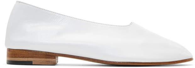 Martiniano White Glove Slippers