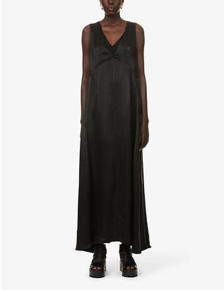 10seiotto Tamigi sleeveless woven maxi dress