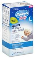 Hyland's 4 oz. Baby Nighttime Mucus + Cold Relief