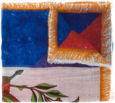 Faliero Sarti multi print scarf - women - Silk/Modal - One Size