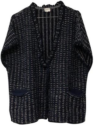 Armani Collezioni Blue Cotton Knitwear for Women