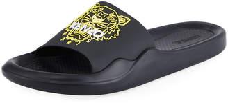 Kenzo Men's Logo EVA Pool Slide Sandals
