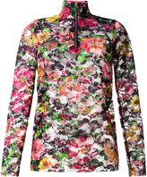 Marques Almeida Marques'almeida - floral print lace top - women - Polyester/Polyurethane - S