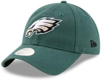 New Era Women's Midnight Green Philadelphia Eagles Core Classic Primary 9TWENTY Adjustable Hat