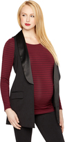 A Pea in the Pod Front Pocket Ponte Maternity Vest