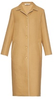 Nina Ricci Single-breasted wool-blend coat