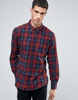 French Connection Flannel Slim Fit Check Shirt