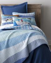 """Speedboat"" Pillows & ""Ocean Wave"" Bed Linens"
