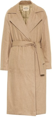 Tod's Stretch-wool trench coat