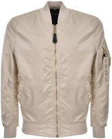 Alpha Industries MA 1 VF Bomber Jacket Cream