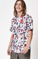 Ezekiel Tropical Short Sleeve Button Shirt