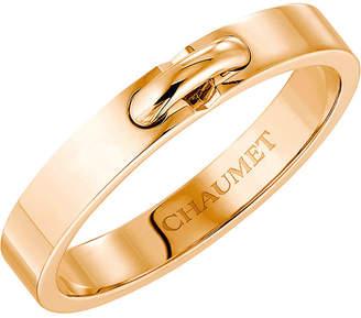 Chaumet Liens XXS 18ct pink-gold wedding band