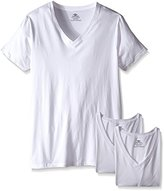 Dockers Big-Tall Basic V-Neck T-Shirt (Pack of 3)