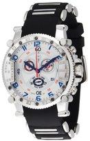 Brillier Men's 02.4.4.4.11.01 Grand Master Tourer Signature White Dial Black Rubber Watch