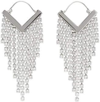 Isabel Marant Silver Freak Out Earrings