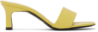 Simon Miller Yellow Solo Heeled Sandals