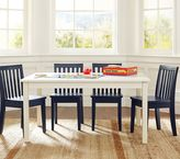 Pottery Barn Kids Carolina Large Table & 4 Chairs Set