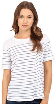 AG Adriano Goldschmied Sonic Striped Tee