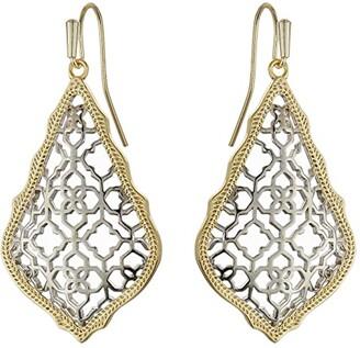 Kendra Scott Addie Earrings (Mixed Gold/Rhodium) Earring