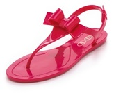 RED Valentino Bow Jelly Sandals
