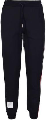 Thom Browne Navy Cotton Rwb Track Pants