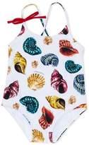 Dolce & Gabbana shell print swimsuit