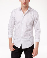 INC International Concepts Men's Studded-Collar Cotton Shirt, Only at Macy's