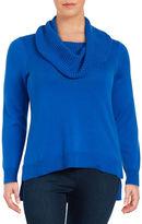 MICHAEL Michael Kors Plus Knit Cowlneck Sweater