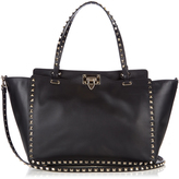 Valentino Rockstud smooth-leather tote