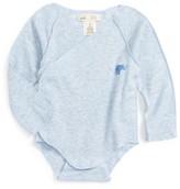 Infant Boy's Peek Little Peanut Wrap Bodysuit