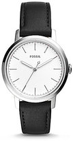 Fossil Neely Analog Leather-Strap Watch