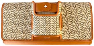 Perrin Paris Brown Leather Clutch bags