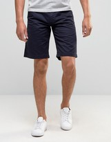 Barbour Newston Twill Chino Shorts In Blue