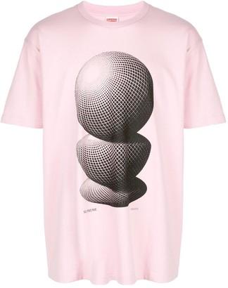 Supreme M.C. Escher Three Spheres T-shirt