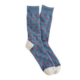 J.Crew Medium-dot cotton socks