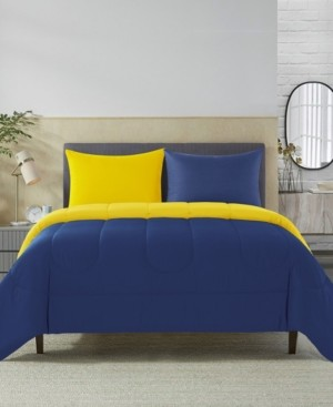 New Sega Sega Home Solid Reversible 2 Piece Twin Comforter Set Bedding