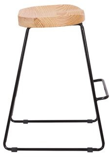 "Union Rustic Beckham Modern 24"" Bar Stool"