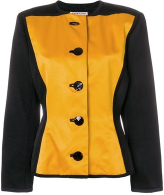Yves Saint Laurent Pre Owned Boxy Buttoned Jacket