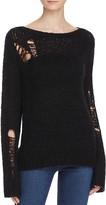 Pam & Gela Distressed Sweater