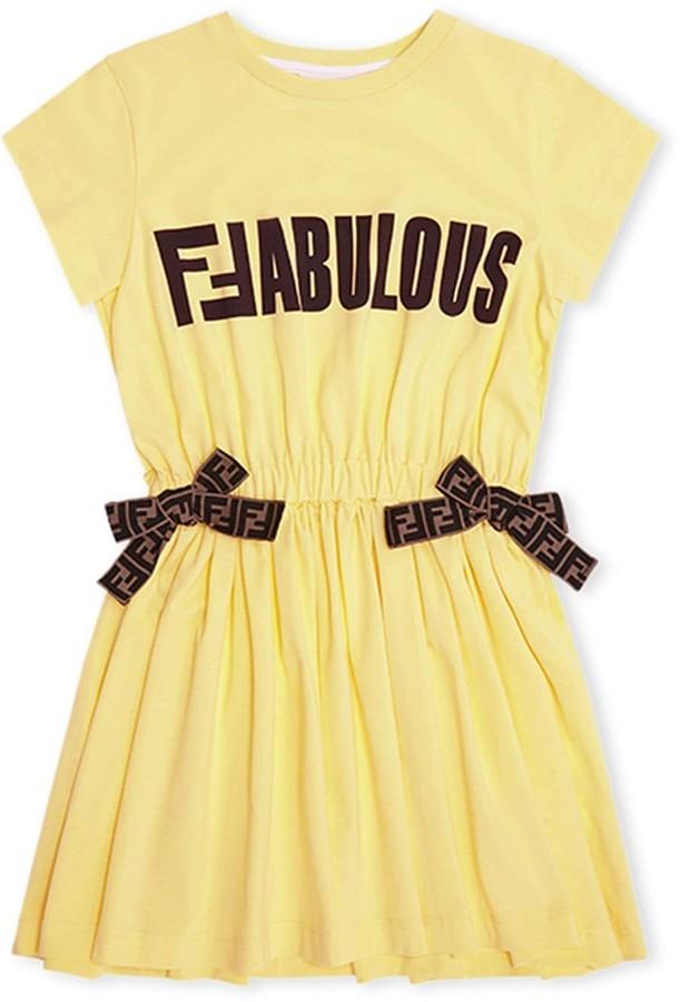 Fendi FFabalous print dress